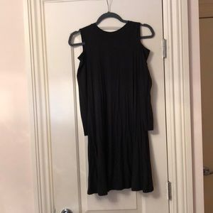 Top shop open shoulder skater dress